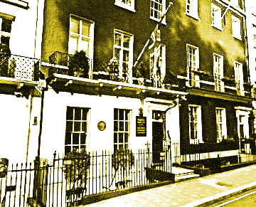 50 Berkeley Square; a location for alleged ghostly activity since the late 1700's.
