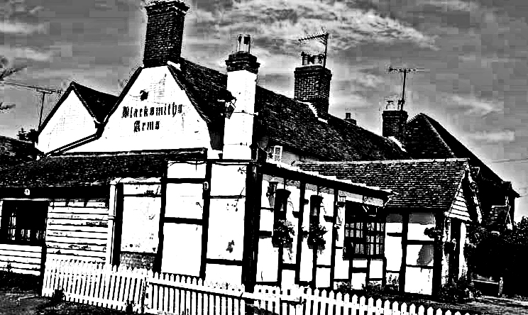 'The Blacksmith Arms' at Pluckley, Kent.