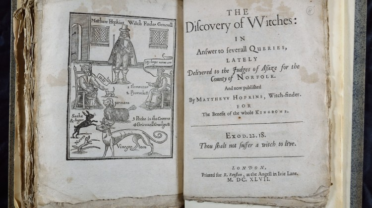 Discoverie of Witches (c) Queen's College, University of Oxford